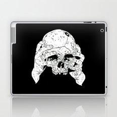 Skull In Hands Laptop & iPad Skin