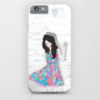 iPhone & iPod Case featuring floral by leeem