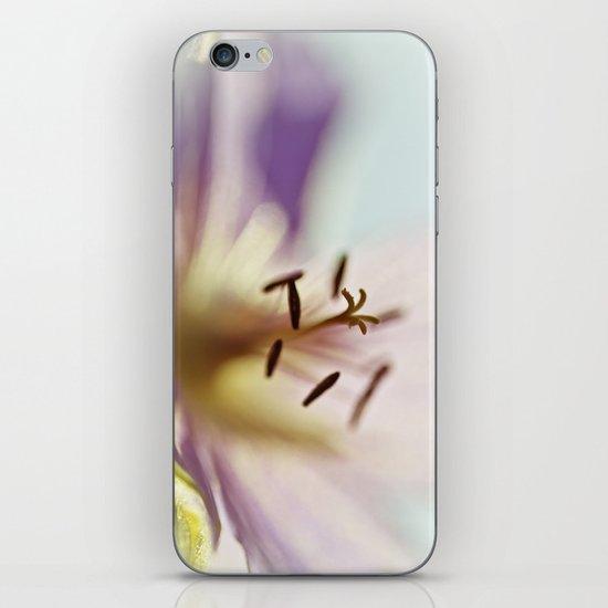 Lilac Blues iPhone & iPod Skin
