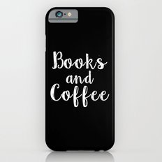 Books And Coffee - Inver… iPhone 6 Slim Case