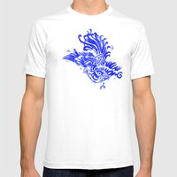 Fly Day or Night Mens Fitted Tee White SMALL