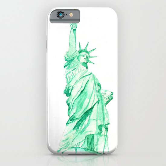 statue of liberty iPhone & iPod Case