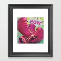 POW Framed Art Print