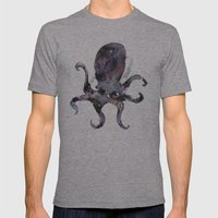 Long Time No Octo Mens Fitted Tee Athletic Grey SMALL