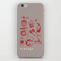 Kitchen Vintage iPhone & iPod Skin