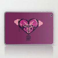Love Skulls Redux Laptop & iPad Skin