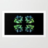 Symmetry Art Print