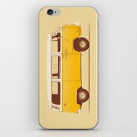 Yellow Van iPhone & iPod Skin