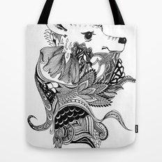 Inking Deer Tote Bag
