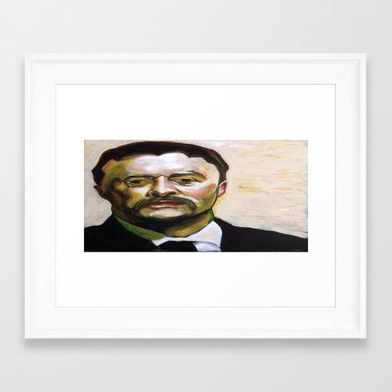 President Theodore Roosevelt Framed Art Print