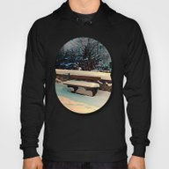 Snow Covered Bench Hoody