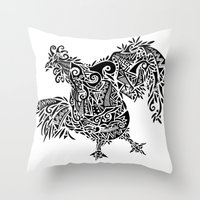 Fowl Throw Pillow