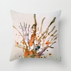 Burst 2 Throw Pillow