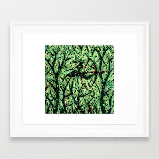 Orixás - Oxóssi Framed Art Print