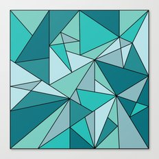 Blueup Canvas Print