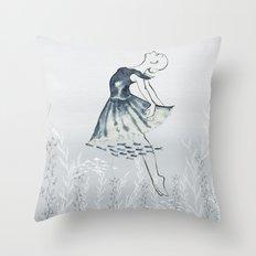nightswimming Throw Pillow