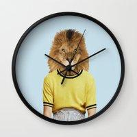 Mr. Blazing Wall Clock