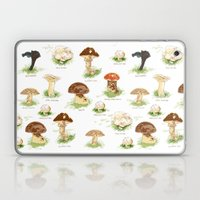 Edible Mushrooms Laptop & iPad Skin