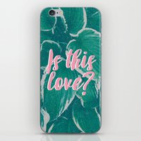 Is This Love? iPhone & iPod Skin