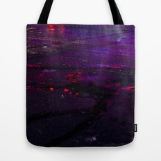 Spilled Lights Tote Bag