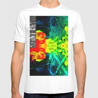 Smoke On The Water Mens Fitted Tee White SMALL