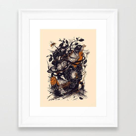 Natural Mystic Framed Art Print