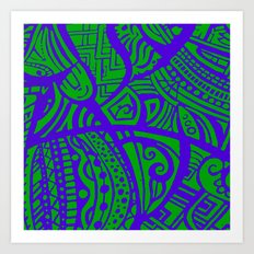 Abstractish 2  Art Print