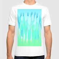 W.F Mens Fitted Tee White SMALL