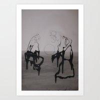 PHARISEES 2 Art Print