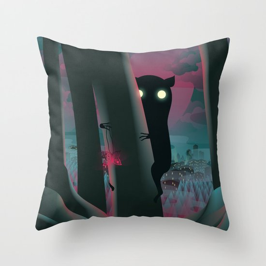 I Have A Gift For You… Throw Pillow