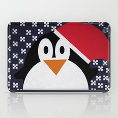 christmas pinguin iPad Case