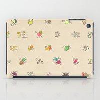 Las Frutas Y Verduras De… iPad Case