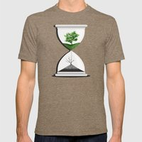 We Are Drying Out Mens Fitted Tee Tri-Coffee SMALL