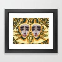 Pineapple By Alex Garant Framed Art Print