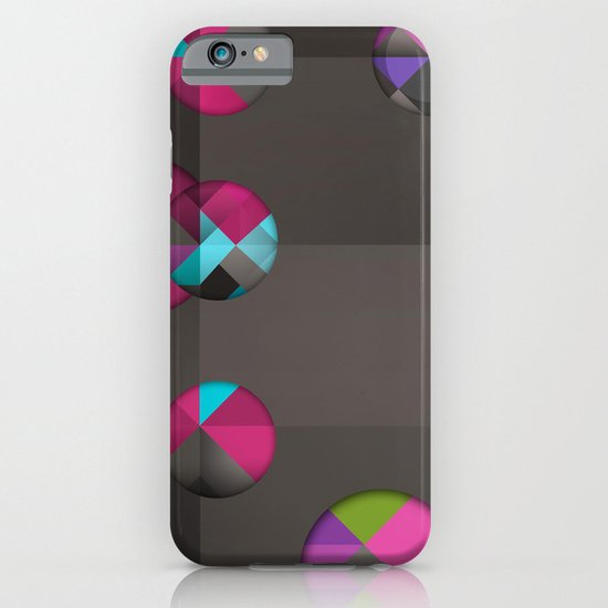 optical illusion black iPhone & iPod Case