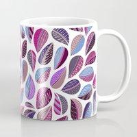 Leaf Purple Mug