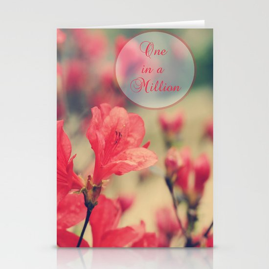 One in a Million Stationery Card
