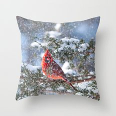 Let It Snow (male Northe… Throw Pillow