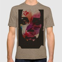 Sad Woman Mens Fitted Tee Tri-Coffee SMALL