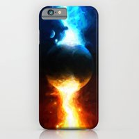 iPhone & iPod Case featuring Galactic Countdown - Painting Style by ElvisTR