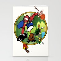 Mario LandS Stationery Cards