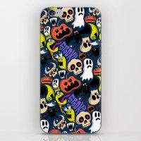 Spooky Pattern iPhone & iPod Skin