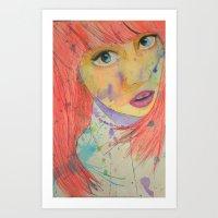 Allison Art Print