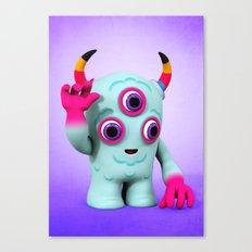 Bull's Eye Pixy Canvas Print