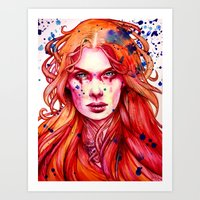 Firestarter Art Print
