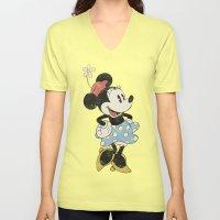 Minnie Mouse Unisex V-Neck