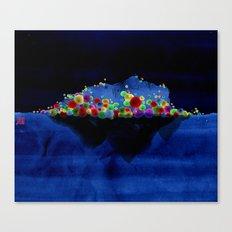 Lonelyisland-迷失的孤岛 Canvas Print