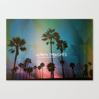 Warm Thoughts Canvas Print