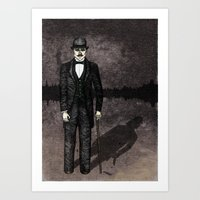 Jekyll And Hyde Art Print