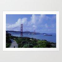 San Francisco Golden Gat… Art Print